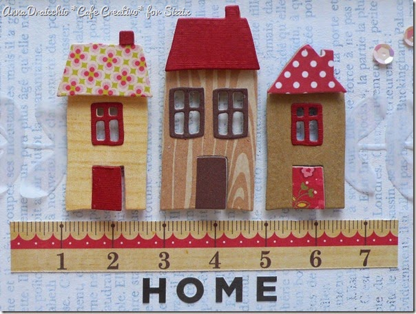 sizzix big shot - frame - home decor -  houses - by Anna Drai - cafecreativo (2)