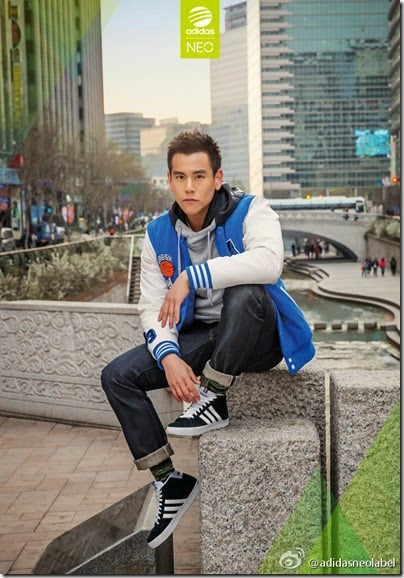 adidas Neo Label X Eddie Peng 2014 summer-fall 19