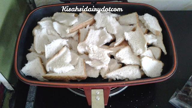 resepi puding roti