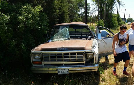Bryce's truck