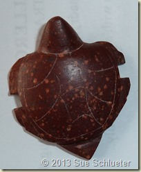 Pipestone Turtle Fetish made in Pipestone, MN