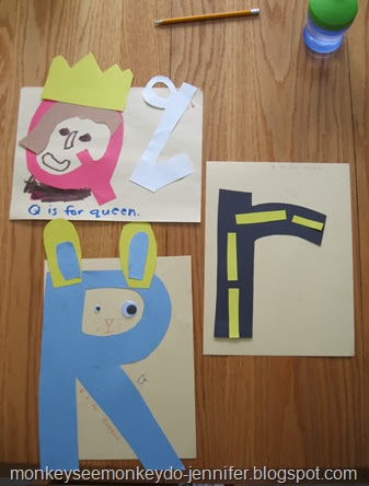 letter of the week craft