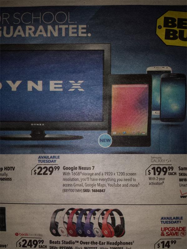 New Nexus 7 ad