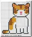 gatos-esquemas-ponto-cruz-motivos-cats-cross stitch-101