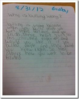 Bully Writing 2