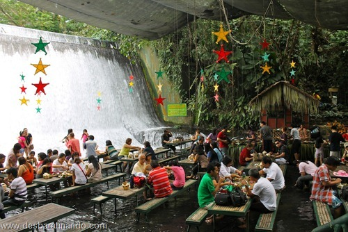 villa escudero Waterfall Restaurant restaurante na cachoeira desbaratinando  (2)