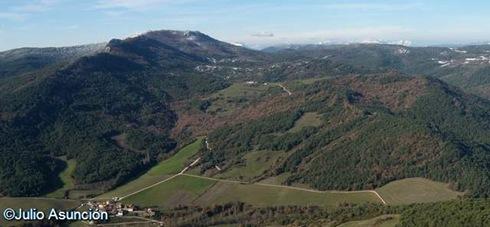 Vistas desde la Pea - Zunzarren