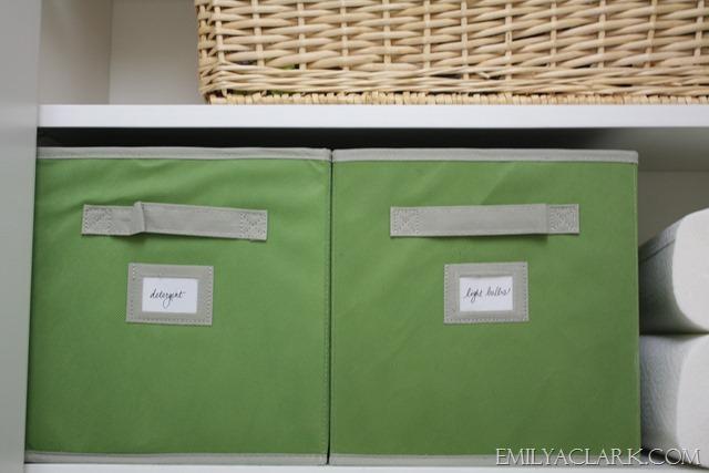 laundry storage bins