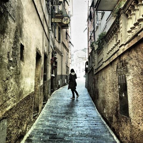 Alleyway, Riomaggiore, Cinqueterre