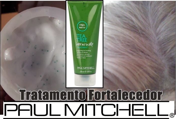 Paul Mitchell Tea Tree Scalp –tratamento no couro cabeludo.