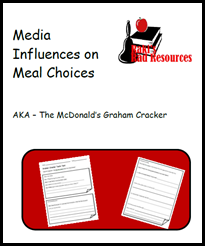 how do commericals affect meal choices - lesson plan