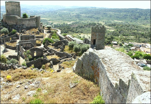 Marialva - Glória Ishizaka -  cidadela no interior da muralha 4