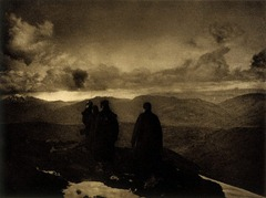 James Craig Annan - The Dark Mountains - 1890