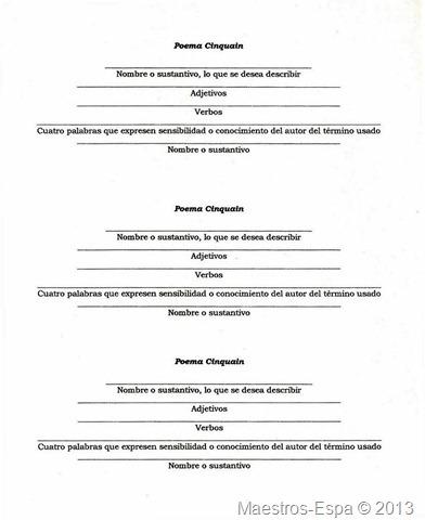 poema-cinquain