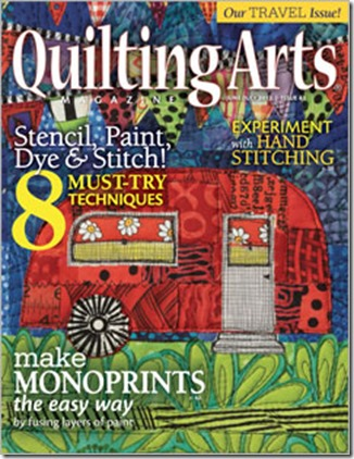 Quilting Arts June/July 2013
