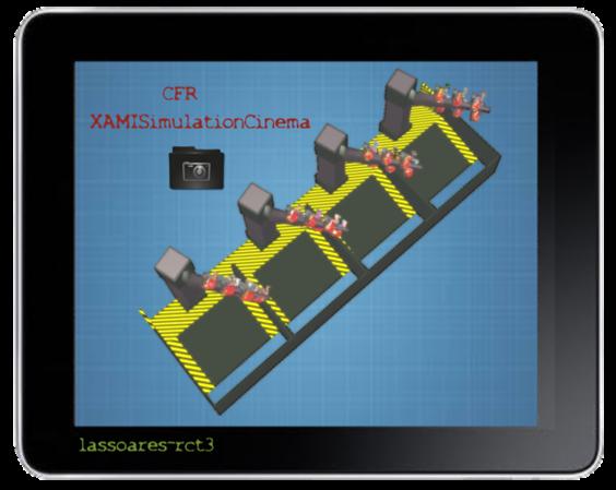 XAMISimulationCinema II (Raumpatrouille Orion, AreaORG) lassoares-rct3