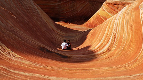 The wave of Arizona, United States