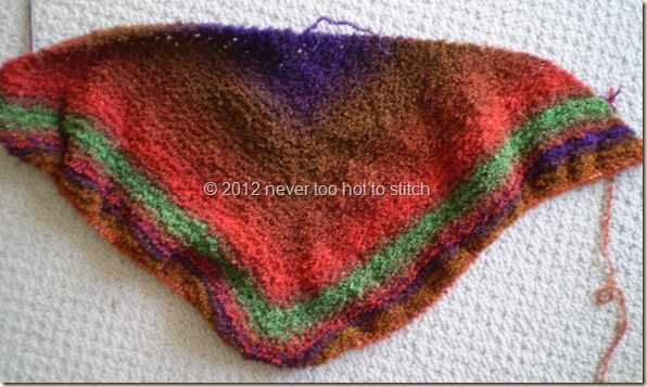 2012 Shawl for Someone #3 day 3