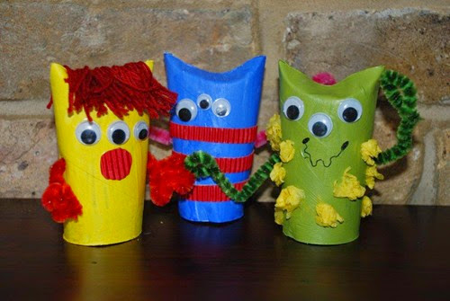 Loo Monsters from Red Ted Art