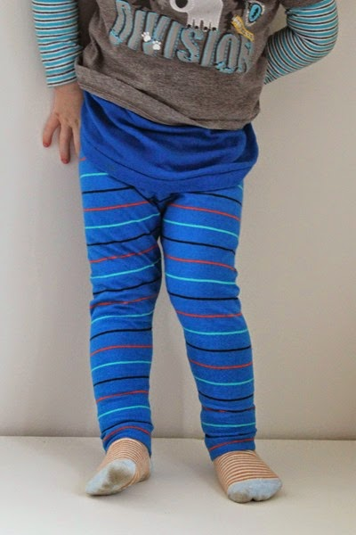 Legging blue on