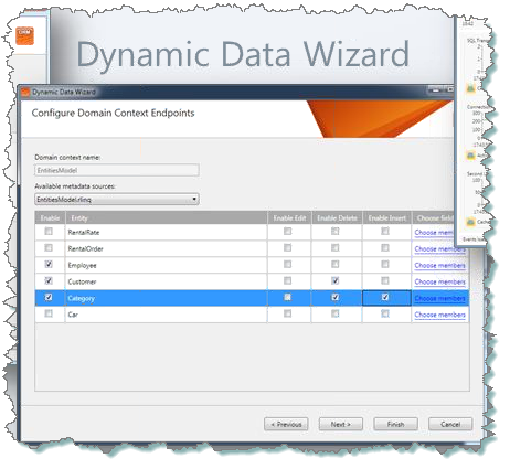 DD Wizard in Telerik OpenAccess ORM