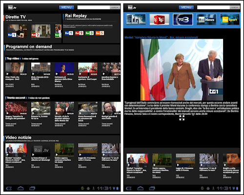 Rai TV per Android