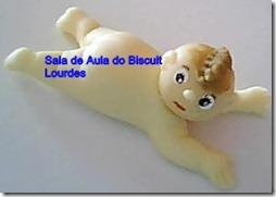 Passo a passo lembrancinha biscuit bebê deitado 12
