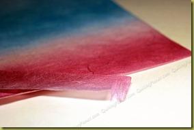 Бумага для лепестков чертополоха