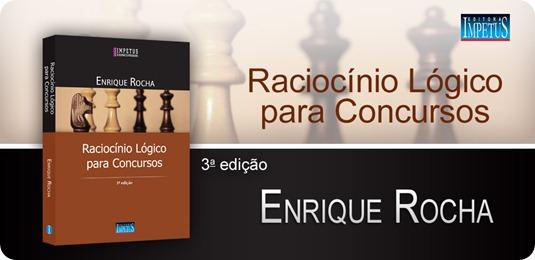 21 - Raciocínio Lógico para Concursos - Enrique Rocha