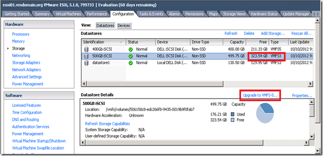 01_Upgrade to VMFS5