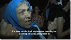 Mulheres protestam na Tunisia.Set.2012