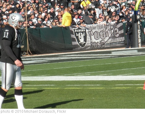 'Sebastian Janikowski - Oakland Raiders - 1000 Points' photo (c) 2010, Michael Dorausch - license: http://creativecommons.org/licenses/by-sa/2.0/