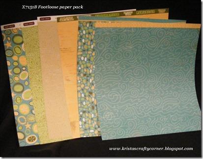 Footloose Paper pack