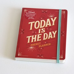 today is the day planner