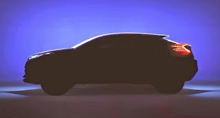 C-HR : un crossover Toyota hybride au Mondial de l'Automobile