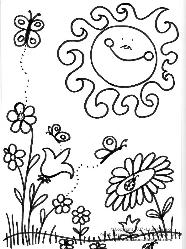 Dibujos Para Colorear 21 De Marzo - Dibujos Para Dibujar