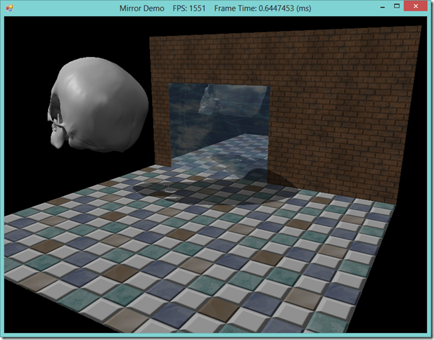 Planar Reflections and Shadows using the Stencil Buffer in SlimDX and Direct3D 11