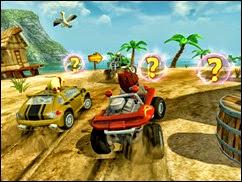 لعبة البيتش باجى Beach Buggy Racing للأيفون وأيباد - 1