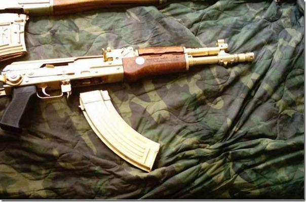 Armas de Ouro de Saddam Hussein (5)