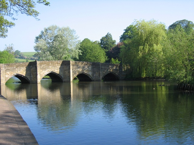 The river Wye in Bakewell