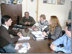 """Autoridades municipales se reunieron con egresados del Instituto """"René Favaloro"""" de Mar de Ajó norte"""