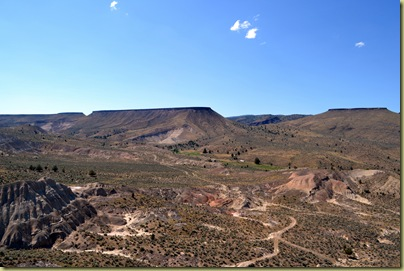 Landscape near Dayville