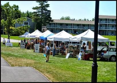 11a - Rt 198 - Northeast Harbor - Farmers Market