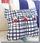 Target napkins as pillow covers