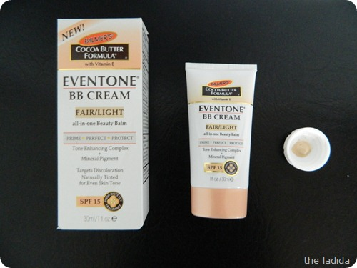 Palmer's Eventone BB Cream Fair Light (2)
