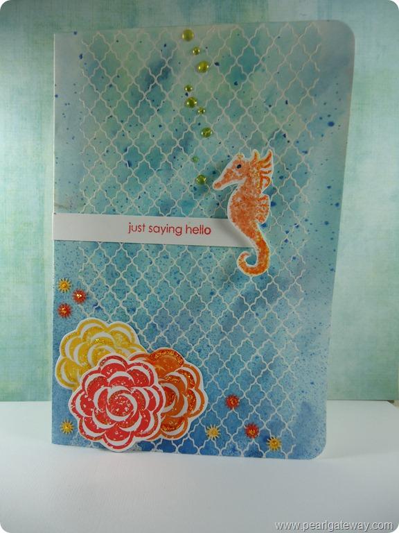 Seahorse Card (3)