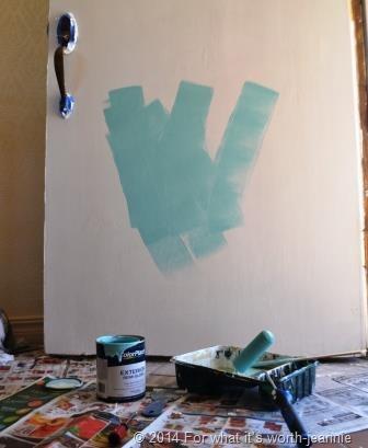 paint door
