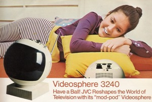 Picture from JVC Videosphere television information folder
