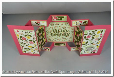 All Abloom Large Square Double Display Card , Amanda Bates at The Craft Spa (1)