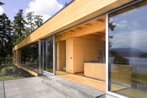 Casa moderna Gulf Islands / RUFproject